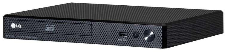 LG BP250 Blu-ray Player (Upscaler 1080p, USB) für 49,99€ (statt 65€)