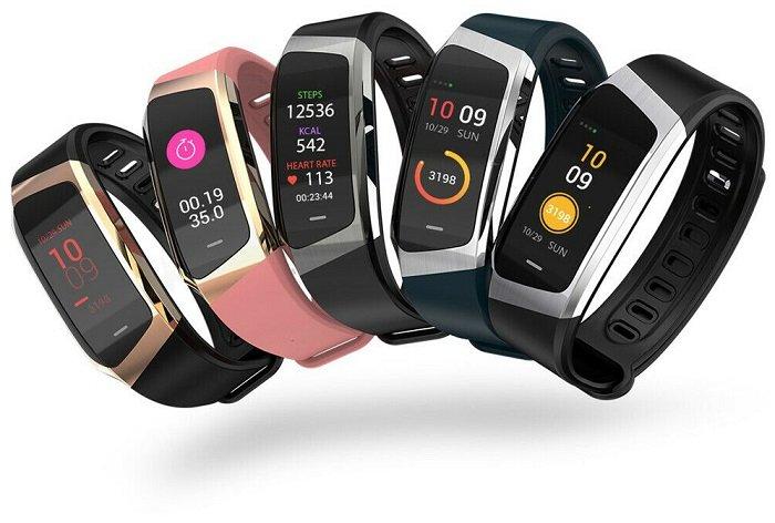E18 Android Smart Puls Messgerät als Armband mit IP67 (wasserdicht) für 21,49€