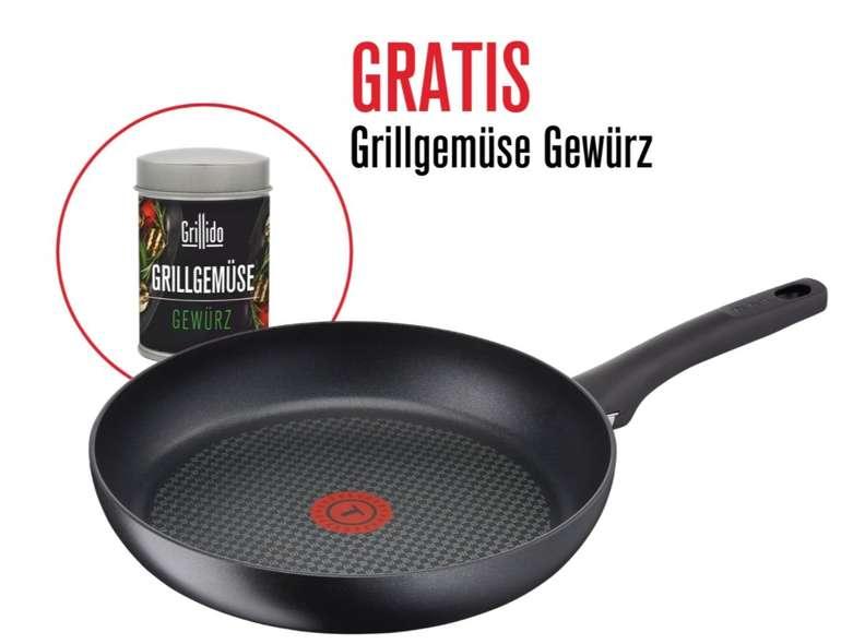 Tefal Delicia Pro Pfanne (24cm) + Grillido Grillgewürz für 26,50€ inkl. Versand (statt 31€)