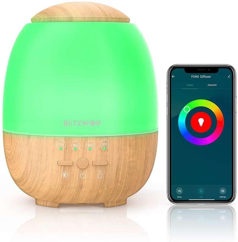 BlitzWolf Luftbefeuchter (App-Steuerung & Alexa/Google Home kompatibel) für 25,19€ inkl. Versand (statt 36€)