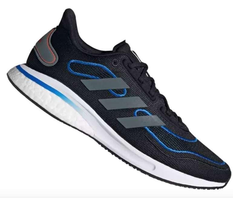 Adidas Supernova M Herren Laufschuhe in schwarz/blau für 49,95€ inkl. Versand (statt 60€)