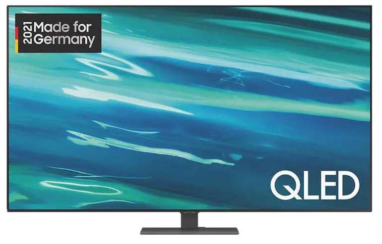 Samsung GQ55Q80A QLED TV (Flat, 55 Zoll / 138 cm, UHD 4K, SMART TV, Tizen) für 838,90€inkl. Versand (statt 1.129€)
