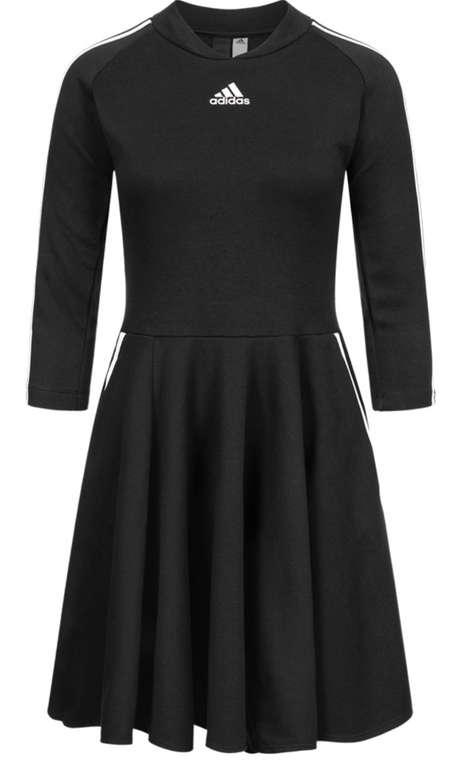 adidas 3 Stripes Damen Kleid in Schwarz für 36,94€inkl. Versand (statt 57€)