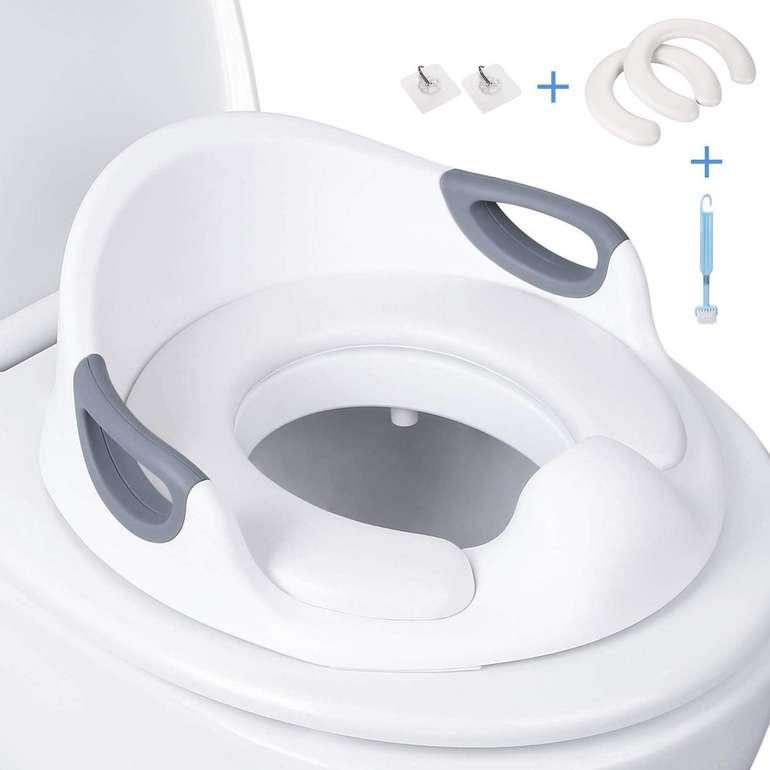 Dalmo Toilettensitz für Kinder mit seitlichen Haltegriffen für 9,99€ - Prime!