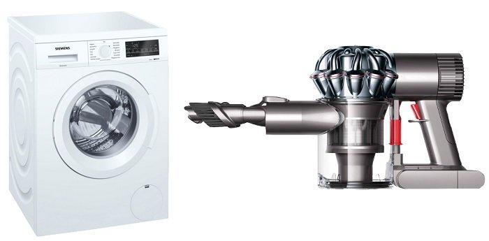 Siemens WU14Q420 iQ500 8 kg Waschmaschine + Dyson v6 Trigger für 539,98€