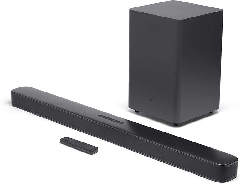 JBL Bar 2.1 Soundbar Deep Bass (Bluetooth, WLAN, 300 W) für 184,99€ inkl. Versand (statt 229€)