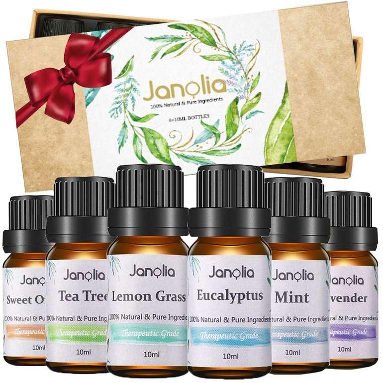 Janolia ätherische Öle (6 x 10ml) für 6,99€ inkl. Prime Versand (statt 10€)