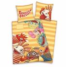 Sorgenfresser Bettwäsche (135×200 cm) aus Baumwolle für 7,28€ (statt 16€)