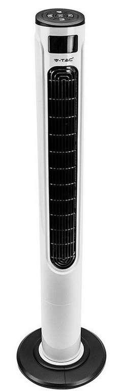 V-Tac Smart Tower-Ventilator (55 Watt, 120 cm) für 75,90€ inkl. Versand (statt 95€)