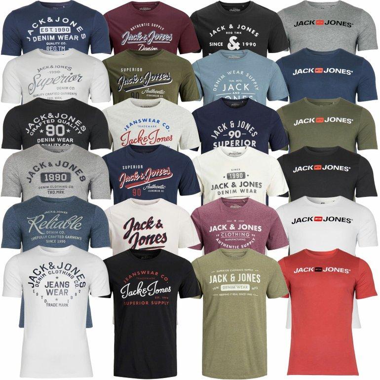 Für den Frühling: Verschiedene Jack & Jones T-Shirts (Herren) für je 9,99€ inkl. Versand