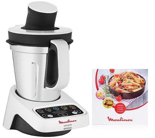 Moulinex Volupta Küchenmaschine mit Kochfunktion inkl. 50…