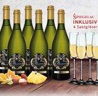 6 Flaschen Prosecco Frizzante Silvio + 4 Spiegelau Sektgläser für 44,94€