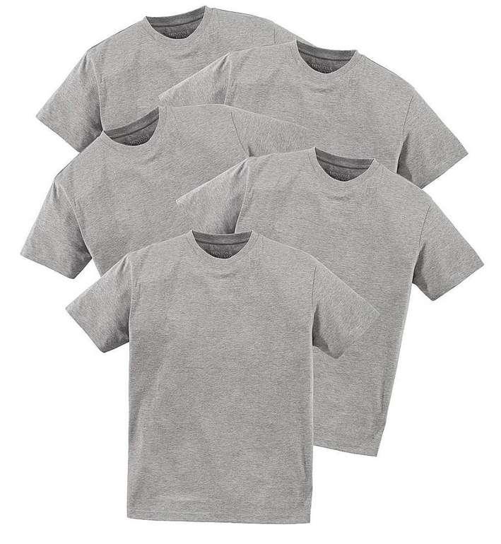 5er Pack Henson & Henson Herren T-Shirts (versch. Farben) für 22,49€ inkl. Versand