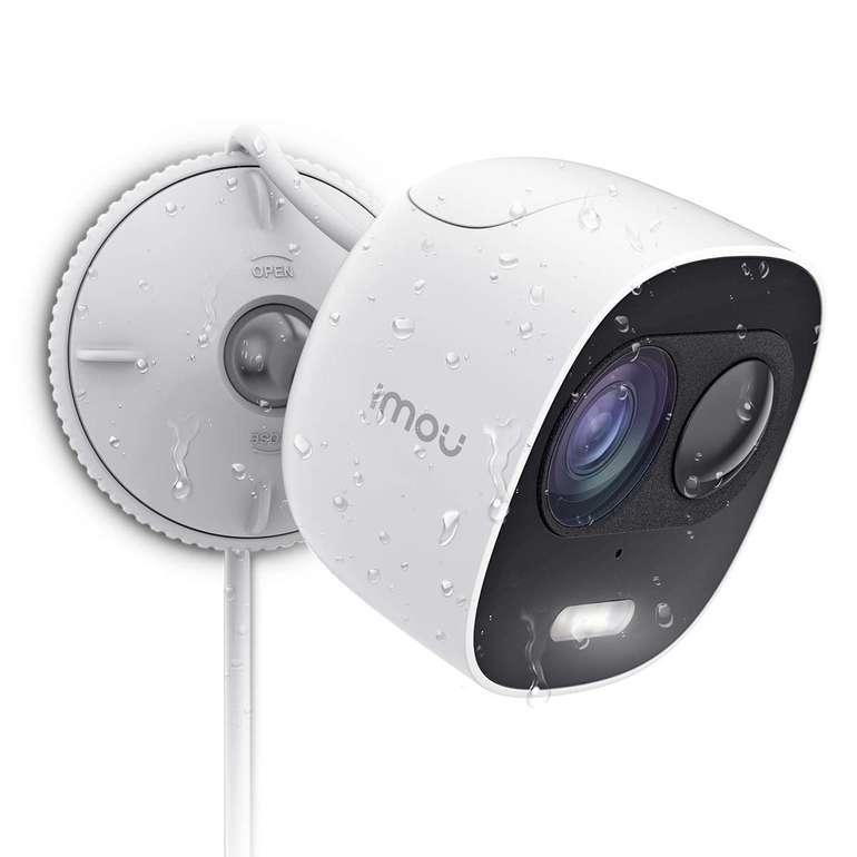Imou WLAN IP 1080P Überwachungskamera mit Sirene & Alarmlicht für 56,74€
