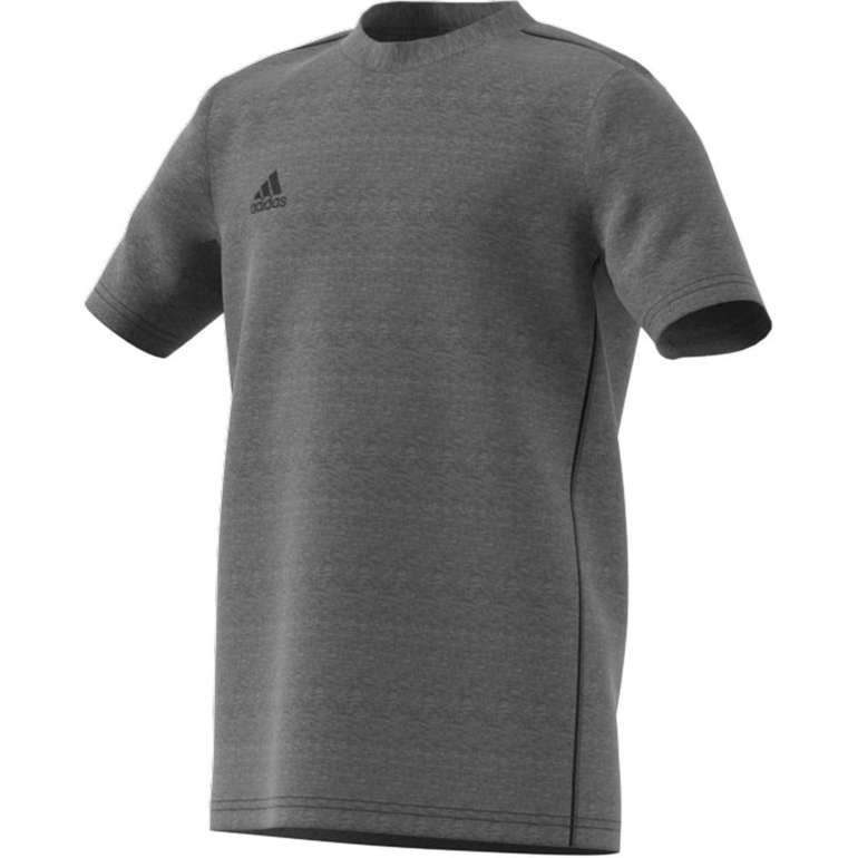 Adidas Core 18 Kinder T-Shirt in grau für 8,36€ inkl. Versand (statt 13€)