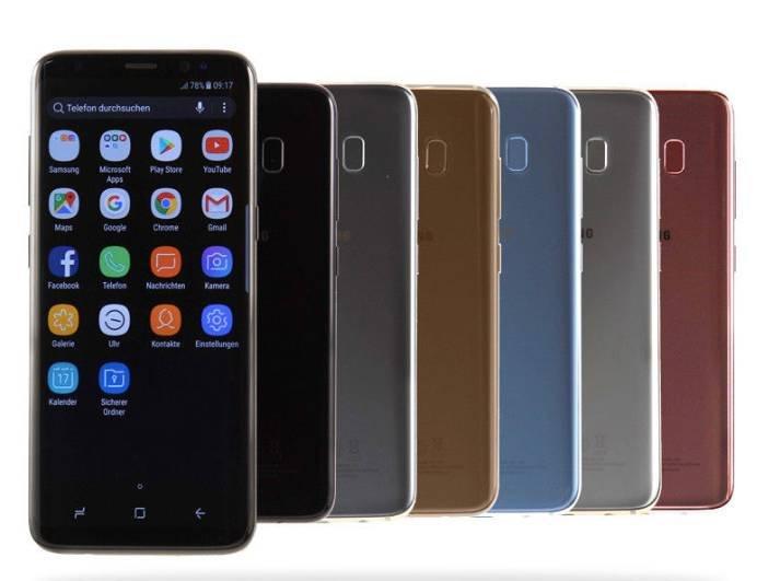 Samsung Galaxy S8 Smartphone für 239,99€ inkl. Versand (B-Ware)
