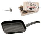 WMF Steak Set 14-tlg. in Holzkiste, Grillpfanne & Steakthermometer für 69,95€