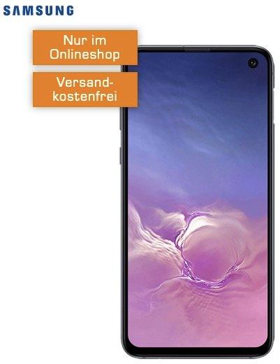 Samsung Galaxy S10e (11€) +  Telekom green LTE (D1-Netz, All-Net Flat, 6GB LTE) für 19,99€ mtl.
