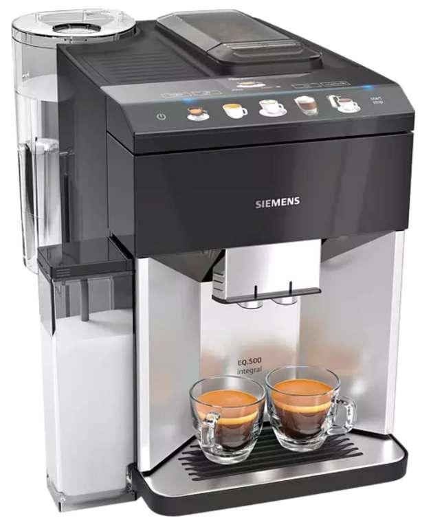 Saturn Gutscheinheft Aktionen - z.B.Siemens Kaffeevollautomat TQ503D01 EQ.500 für 499€ inkl. Versand
