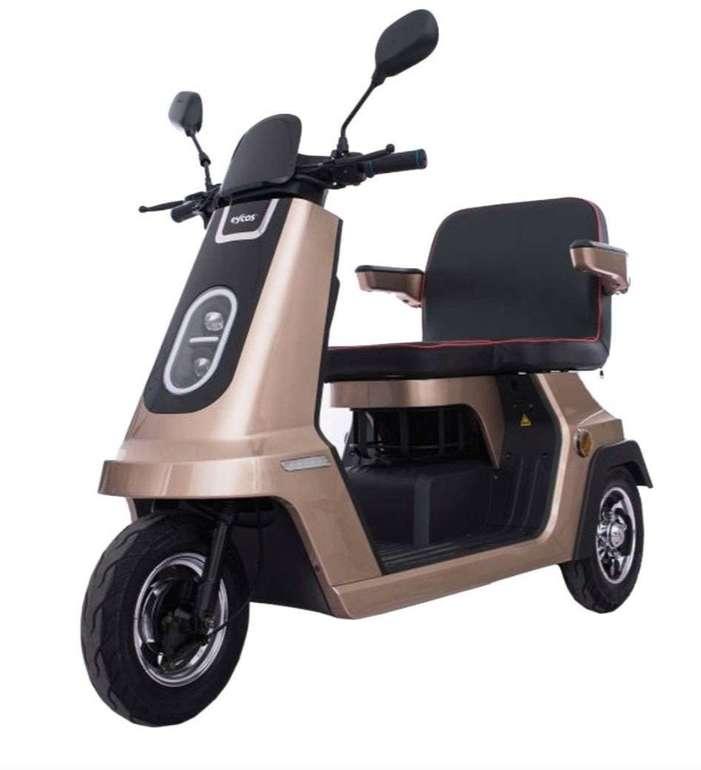 Eycos Papamobil Elektroroller (bis 20 km/h, 50km Reichweite) für 914,25€ (statt 1.299€)