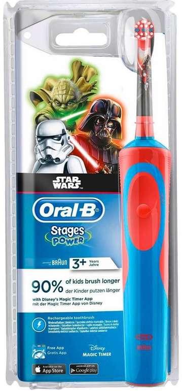 Braun Oral B Kids Star Wars elektrische Zahnbürste für 12,99€ (statt 17€)