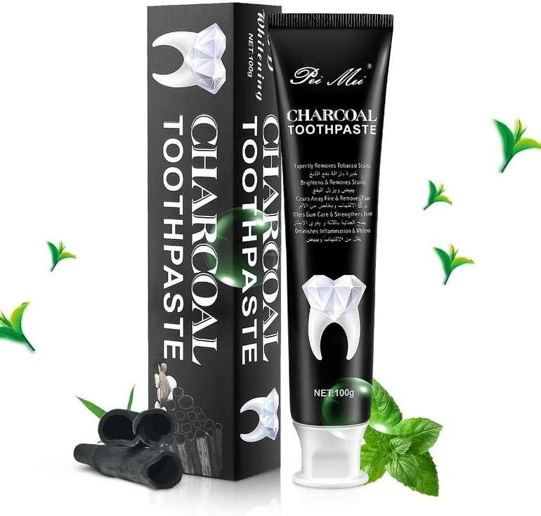 MayBeau Aktivkohle Zahnpasta mit Bambuskohle zur natürlichen Zahnaufhellung für 3,96€ inkl. Prime Versand