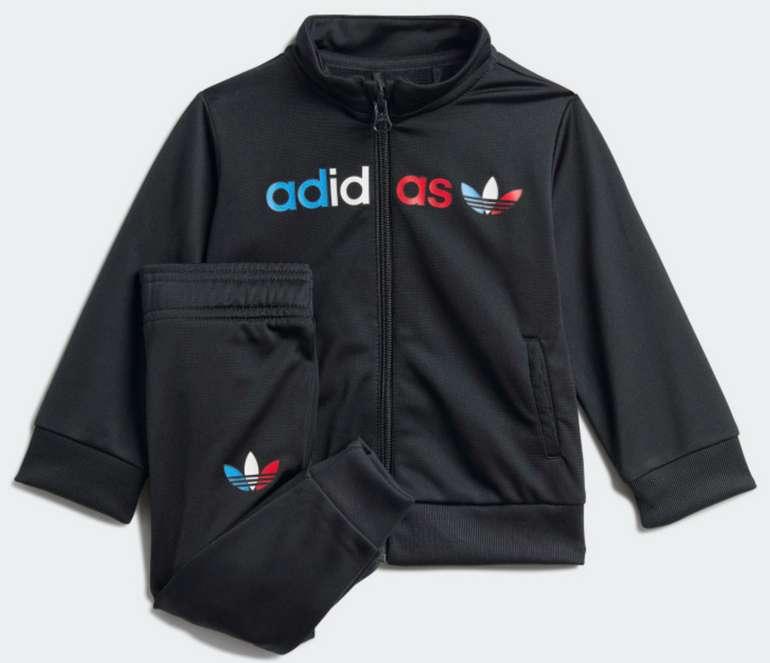 adidas Adicolor Kinder Trainingsanzug in schwarz für 23,37€ inkl. Versand (statt 30€) - Creators Club!