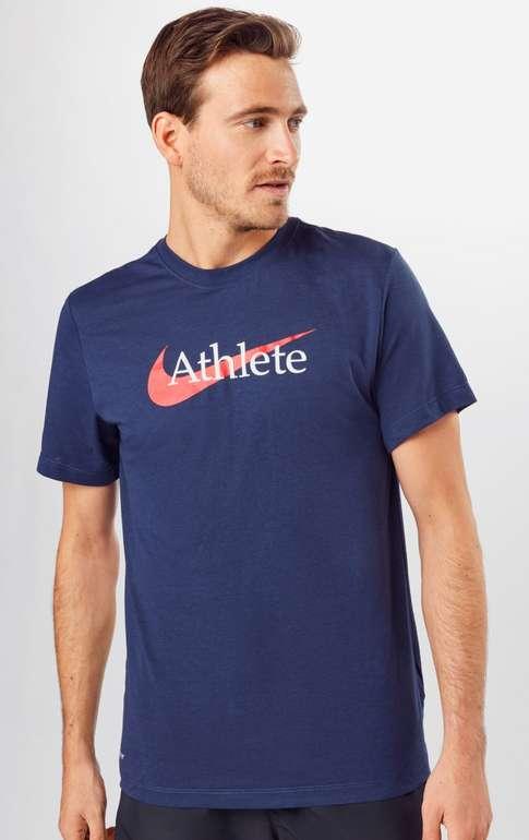 "Nike Sport-Shirt ""Athlete"" in navy für 10,74€ inkl. Versand (statt 23€)"