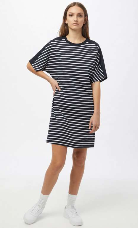 """Superdry Kleid """"Modal"""" in nachtblau/weiß für 26,45€ inkl. Versand (statt 53€)"""