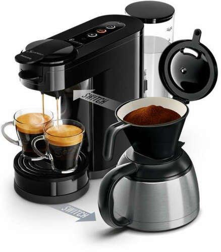 Philips Kaffeemaschine HD6592/60 Senseo Switch (Schwarz) für 69,90€ inkl. Versand (statt 80€)