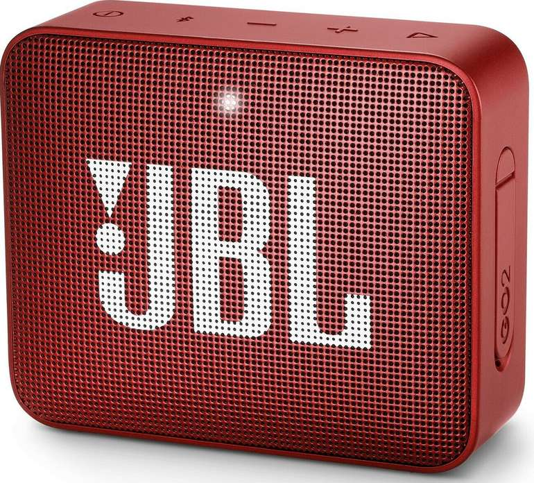 JBL Go 2 Portable-Lautsprecher (Bluetooth, 3 W, IPX-7) in blau für 16,97€ inkl. Versand (statt 24€)