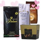 Valentinstagspaket: 3kg Kaffeebohnen + belgische Trüffelschokolade für 35,94€
