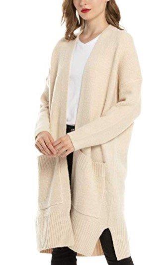 Woolen Bloom Strickcardigan mit Taschen für 40,79€ inkl. Versand (statt 67€)