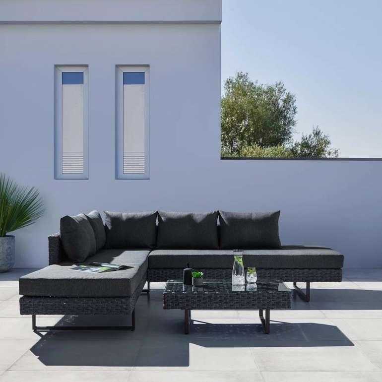 """Bessagi Garden Loungegarnitur """"Raffaela"""" in Grau für 324€ inkl. Versand (statt 699€)"""