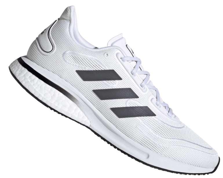 Adidas Supernova M Herren Laufschuhe in weiß/grau für 59,96€ inkl. Versand (statt 70€)