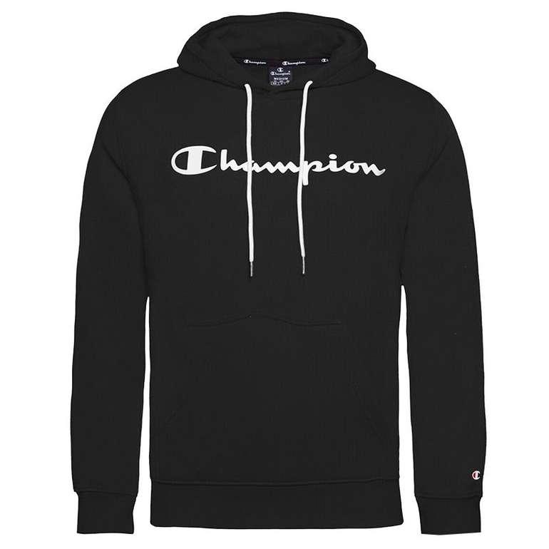 Champion Hooded Fleece Sweatshirt in schwarz oder weiß für 38€ inkl. Versand (statt 48€)