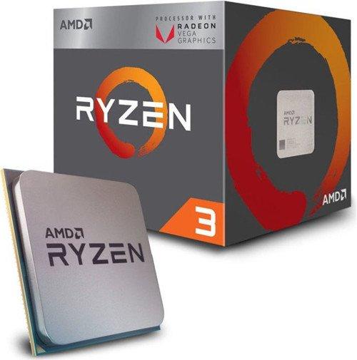 AMD Ryzen 3 2200G Quad-Core-Prozessor mit 3,5GHz für 80,89€ inkl. Versand