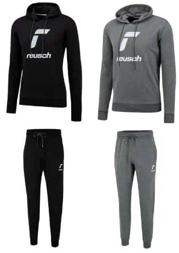 Reusch Baumwoll-Jogginganzug Essentials Logo (Gr. S bis XXL) für 39,95€ inkl. Versand (statt 90€)