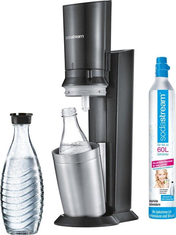 SodaStream Crystal 2.0 Schwarz (1 Karaffe + 1 Zylinder) für 79,95€ inkl. Versand