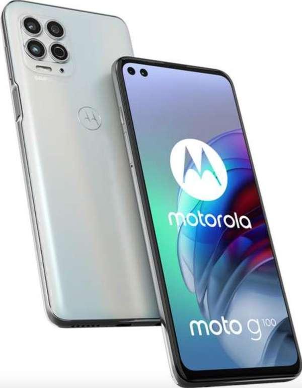 Motorola Moto G100 mit 128GB (49€) + o2 Super Select M (8GB LTE, Allnet- & SMS-Flat) für 12,99€ mtl.