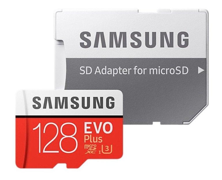 Samsung EVO MicroSDXC mit 128GB für 24€ inkl. Versand