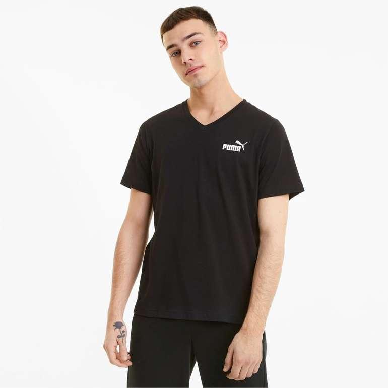 Puma Essentials Herren T-Shirt mit V-Ausschnitt in 3 Farben für je 14,96€ inkl. Versand (statt 20€)
