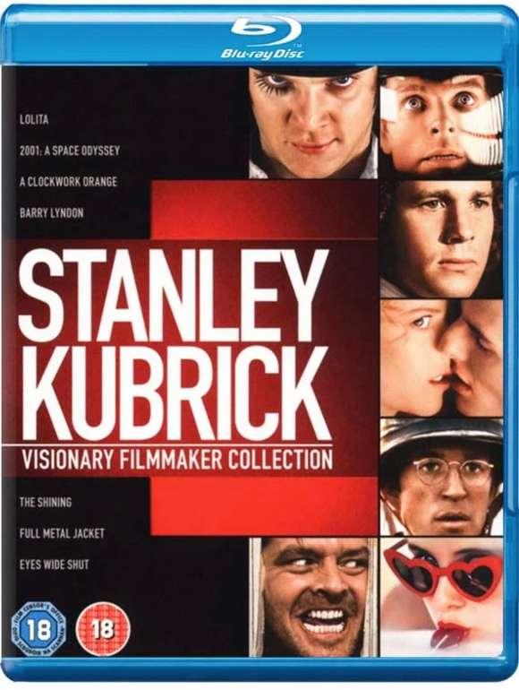 Stanley Kubrick: Visionary Filmmaker Collection (8 Filme) auf Blu-ray für 22,99€ inkl. Versand (statt 28€)