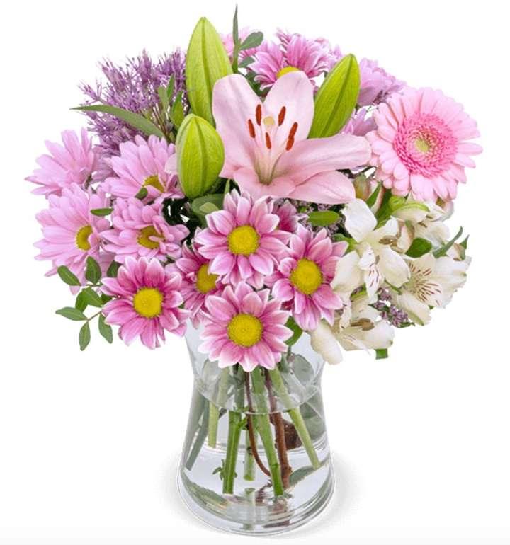BlumeIdeal: 15% Rabatt auf ausgewählte Blumensträuße zum Muttertag