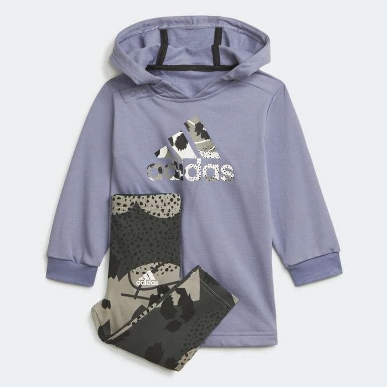 Adidas Mädchen Hoodie-Set in 2 Farben für je 24,50€ inkl. Versand (statt 30€) - Creators Club