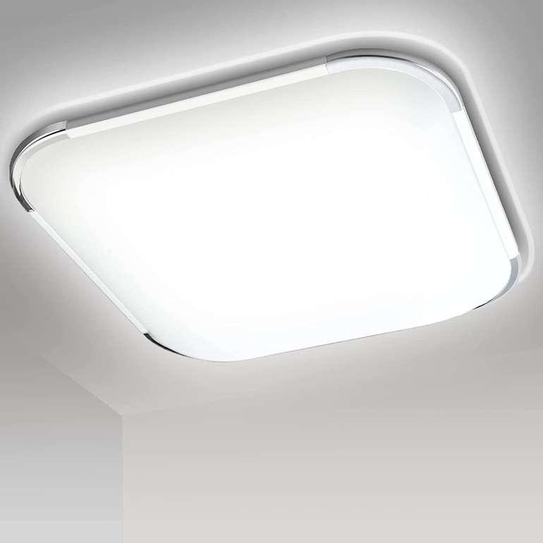Traminy LED Deckenleuchten (Kaltweiss 6500K, IP44) z.B. 24W für 23,09€ inkl. Versand (statt 32€)