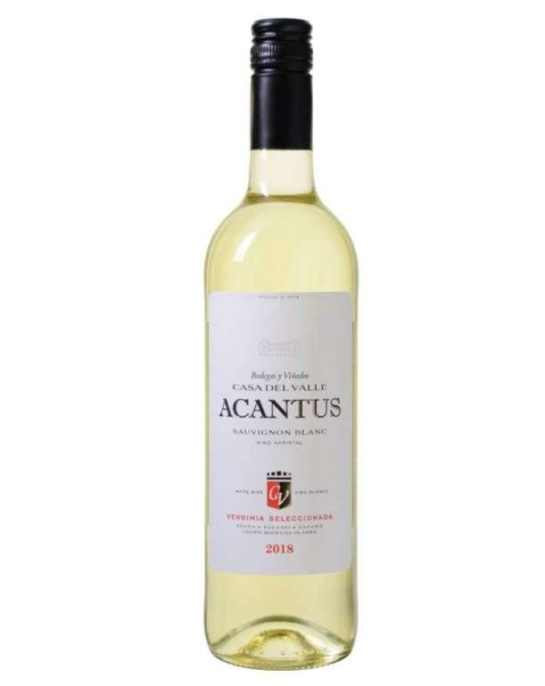 12 Flaschen Bodegas y Viñedos Casa del Valle - Acantus Sauvignon Blanc - VdT de Castilla für 39,99€