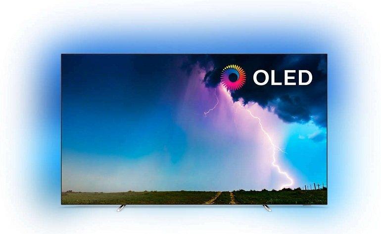 "Philips 55OLED754/12 - 55"" OLED 4K UHD Smart TV mit 3-fach Ambilight für 1.155€ (statt 1.499€)"