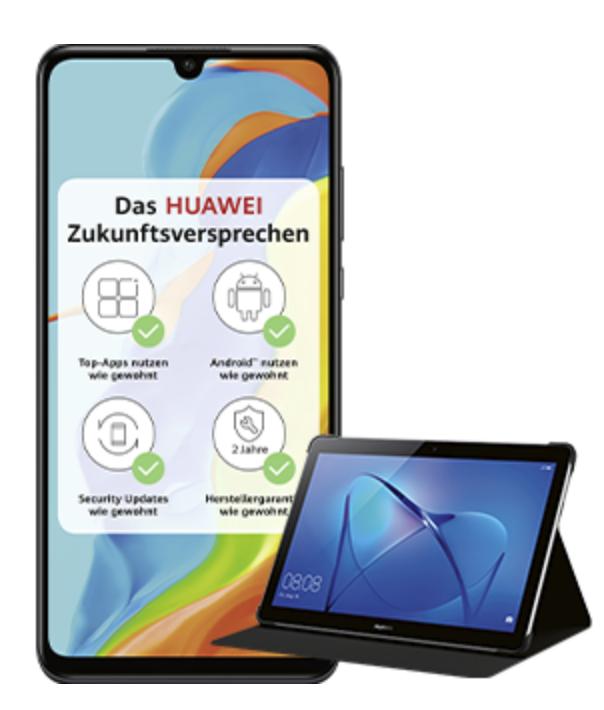 Huawei P30 Lite New Edition + MediaPad T3 10 und Case für 274,89€inkl. Versand (statt 407€)