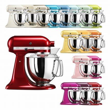 KitchenAid Artisan 5KSM175PS - 4,8l Küchenmaschine für 319,50€ (refurbished)